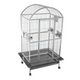 A and E Stainless Steel Dometop Bird Cage 61 Inch
