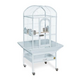 Prevue Small Dometop Bird Cage Pewter