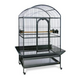 Prevue Large Dometop Bird Cage Pewter