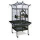 Prevue Small Royalty Series Bird Cage Pewter