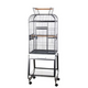 A and E Opening Playtop Bird Cage White
