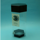 Desktop FlatBack Hexagon Aquarium 10 Gal Sapphire