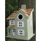 Townhouse Birdhouse Grey
