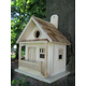 The Kottage Kabin Birdhouse Red