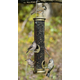 Medium Seed Tube Bird Feeder Brushed Nickel