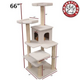 Majestic 66 Inch Bungalow Cat Furniture Tree