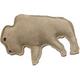 SPOT Dura-Fused Leather Buffalo Dog Toy