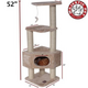 Majestic 52 Inch Casita Cat Furniture Tree