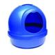 Booda Dome Cat Litter Box Blue