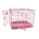 Precision Pet Pink ProValu2 Dog Crate 24x18x19