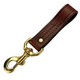 Mendota Leather Belt Snap Dog Lead 4in x 1in