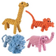 Zanies Rope Menagerie Dog Toy Tiger