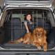 Precision Pet Vehicle Barrier with Door Hammertone