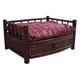 Tropical Island Bamboo Bed w/Cushion