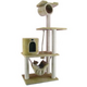 Armarkat Classic Cat Tree Model A6202 62in Beige