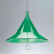 Hanging Bird Feeder Squirrel Baffle - Green