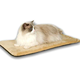 KH Mfg Thermo-Kitty Mat Mocha Heated Cat Bed