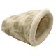KH Mfg Kitty Crinkle Sack Tan Cat Bed