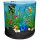 Tetra Half Moon Bubbling LED Aquarium Kit