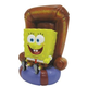 Spongebob In Chair Aquarium Ornament