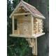 Cabin Birdhouse (Natural)