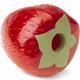 Planet Dog Orbee-Tuff Strawberry Dog Toy