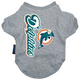 Miami Dolphins Dog Tee Shirt X-Large