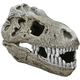 Blue Ribbon T Rex Skull Tank Ornament