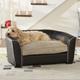 Enchanted Home Pet Black Remy Dog Bed