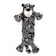 Grriggles Safari Squeaktacular Dog Toy Tiger