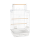 Prevue Top Opening Bird Cage Wht/Wht
