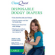 ClearQuest Disposable Doggy Diapers Xlarge