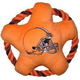 Cleveland Browns Rope Disk Dog Toy