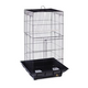 Prevue Clean Life 852 Tall Bird Cage Red/Wht