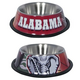 NCAA Alabama Crimson Tide Stainless Steel Dog Bowl