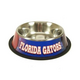 NCAA Florida Gators Stainless Steel Dog Bowl