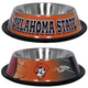 NCAA Oklahoma State Stainless Steel Dog Bowl