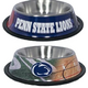 NCAA Penn State Stainless Steel Dog Bowl