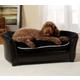 Enchanted Home Pet Ultra Plush Black Panache Bed