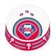 MLB Philadelphia Phillies Plastic Dog Bowl Large