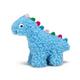 Grriggles Fresh Water Berber Dino Dog Toy SM WHT