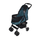 Pet Gear Happy Trails NO-ZIP Pet Stroller Sapphire