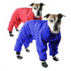 Muttluks Red Reversible Dog Snowsuit Size 8
