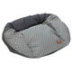 West Paw Tuckered Out Hemp Coal Dog Bed X-Large
