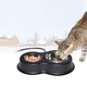 KH Mfg Thermo Kitty Cafe Heated Cat Feeder