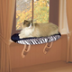 KH Mfg Zebra Kitty Sill Window Perch