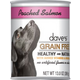 Daves Grain Free Poached Salmon Can Dog Food 12Pk