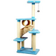 Armarkat Premium 61 Inch Cat Tree with Faux Fleece