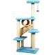Armarkat Premium Cat Tree Model X6105 61in Blue