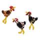 Skinneeez Chicken Cat Toy 3 pack